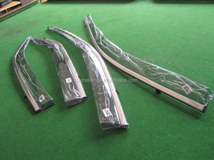 For HONDA ODYSSEY 2015 Car Injection Window Deflectors Vent Visor, High quality with stainless steel.