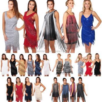 Bestdance New Women Latin Ballroom Dance Dress Tassel Party Dress [ Plus  Size ] Oem - Buy Party Dress,Latin Dress,Party Dress Lady Product on ...
