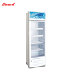 218L Commercial Supermarket Display Cooler Single Glass Door Upright Beverage Drinks Showcae