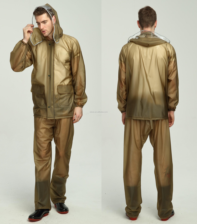 Rain Jacket bib Pants/most Wanted By Fishermen Waterproof Green ...