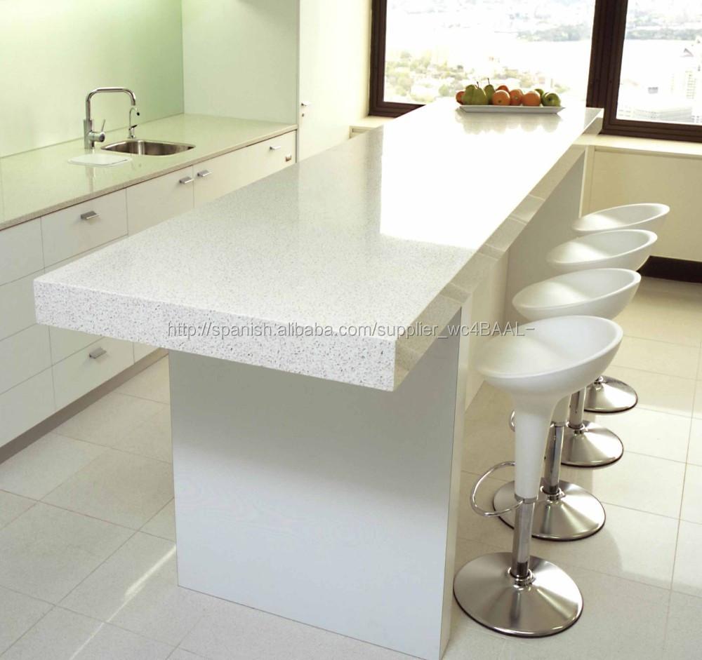 Alta calidad blanca simple de cocina pequeños muebles barra de bar ...