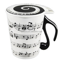 2017 hot sale new music mug for milk/coffee,ceramic music mug