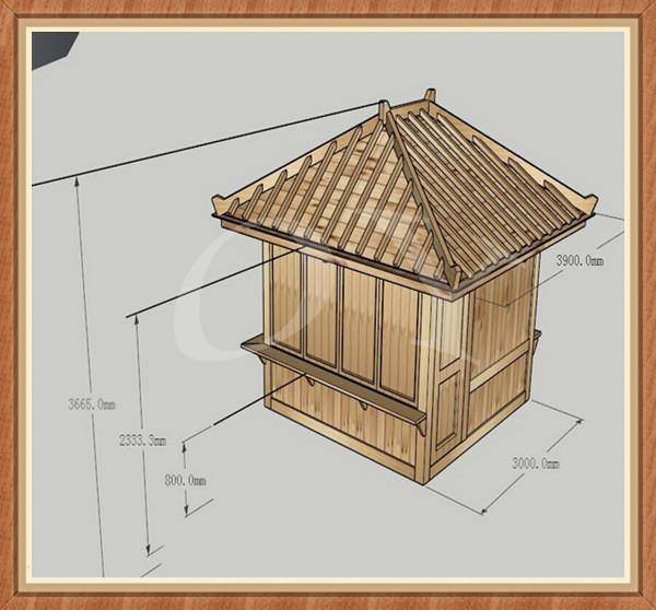 giardino di lusso vasca idromassaggio in legno padiglione/bar ... - Lusso Mobili Gazebo In Legno
