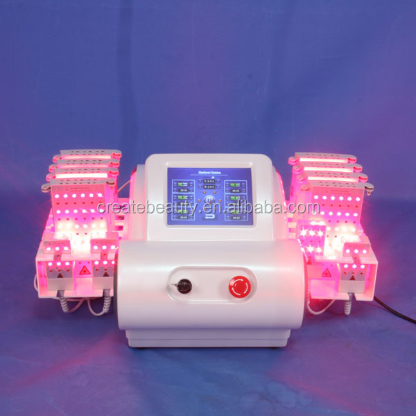 Chinese supplier Approved beauty machine lipolaser 635nm,650nm,810nm,980nm diode laser weight lose