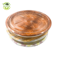 Wholesale Black Disposable Sealable Plastic Food Container for Sushi