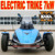 7kW Electric 3 Wheel Tricycle