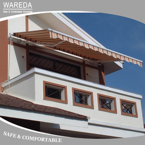 Open type remote control best selling large retractable awning