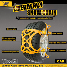 Russia hot sale car used emergency skidder kn snow protective tyre chain