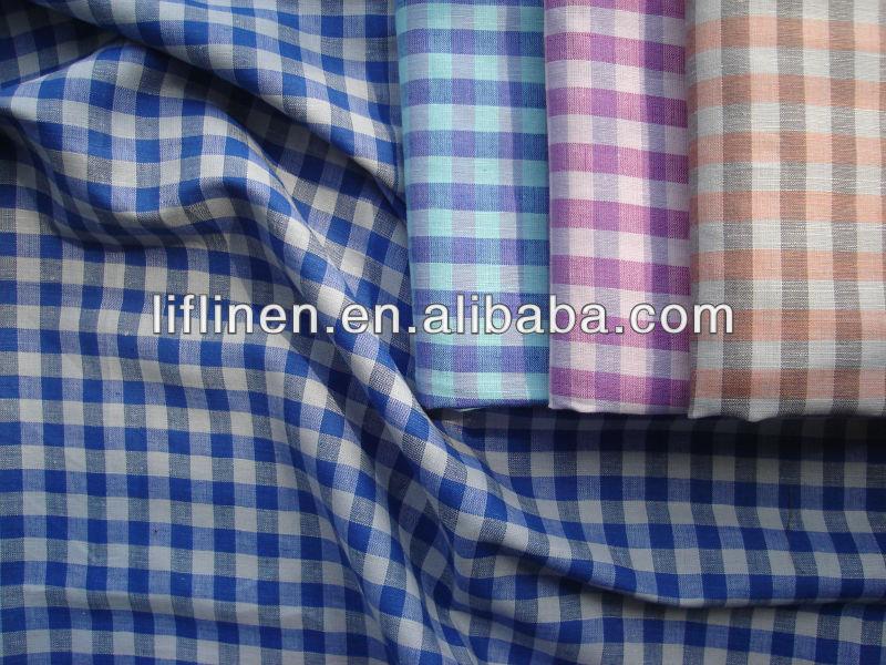 fdfd5963431 Yarn Dyed Check Mens Linen Cotton Shirt Fabric - Buy Linen Cotton  Fabric,Linen Cotton Shirt Fabric,Shirt Fabric Product on Alibaba.com