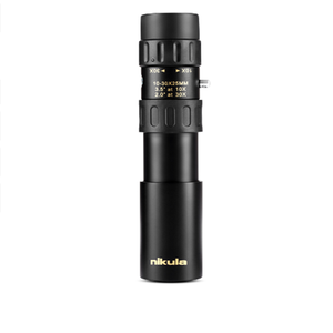 High quality zoom monocular nikula 10-30x25 portable mini monocular hunting telescope monocular scope for sale