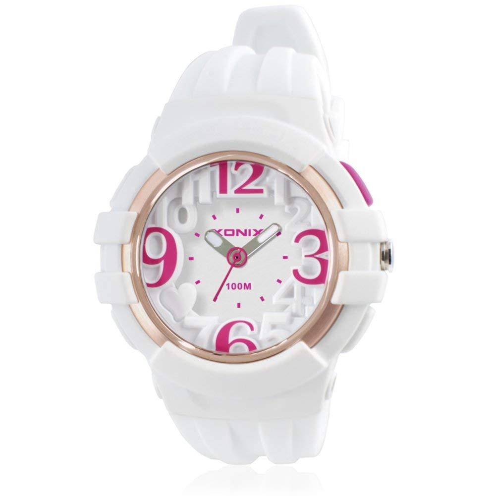 Children watch student simple leisure pointer type movement waterproof quartz watches-B