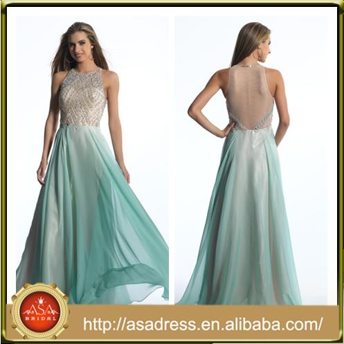 Venta al por mayor vestidos largos para boda de noche-Compre online ...