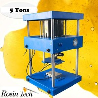 Max 5T rosin tech pneumatic heat press hemp seed oil hard press rosin
