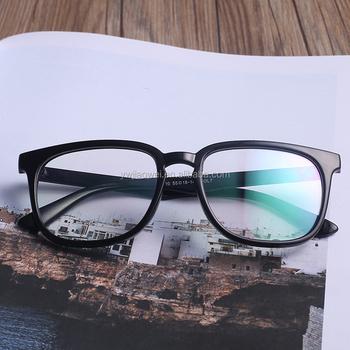7c1ba7caf38 Wholesale new model vision eye glasses clear lens hand polished multi color  frame eyewear