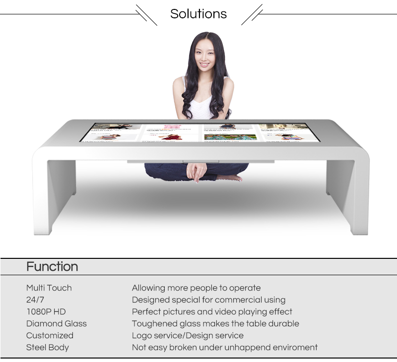 touch screen kiosk interactive touch table lcd touch screen game table