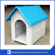 custom outdoor rain-proof durable Eco-Friendly plastic Small Pet dog Houses