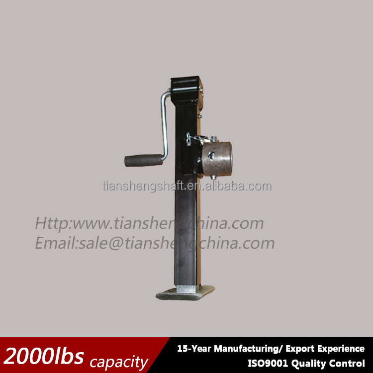 Trailer Jack,Heavy duty Mounting Square Tube Jack Stands ( No Drop Leg) sidewind 2000lbs Buy Trailer Lifting Jack,Trailer Jacks,Trailer Parts
