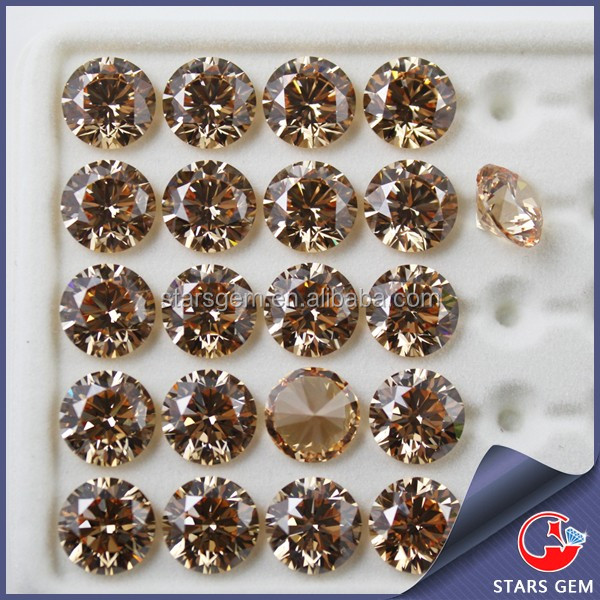 wholesale various shapes synthetic cubic zirconia gems