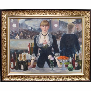 Famous artwork Manet Painting Reproduction