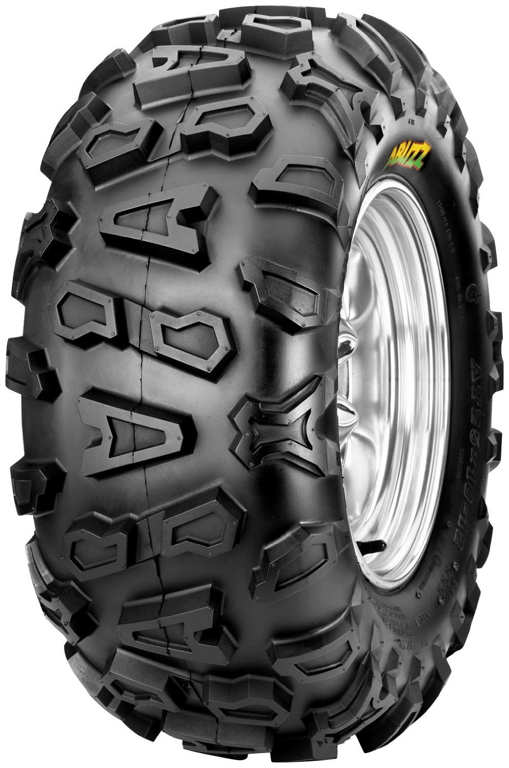 Cheng Shin Abuzz CU02 Tire - Rear - 24x10x11 , Tire Size: 24x10x11, Rim Size: 11, Position: Rear, Tire Ply: 6, Tire Type: ATV/UTV, Tire Construction: Bias, Tire Application: All-Terrain TM165401G0 by CST