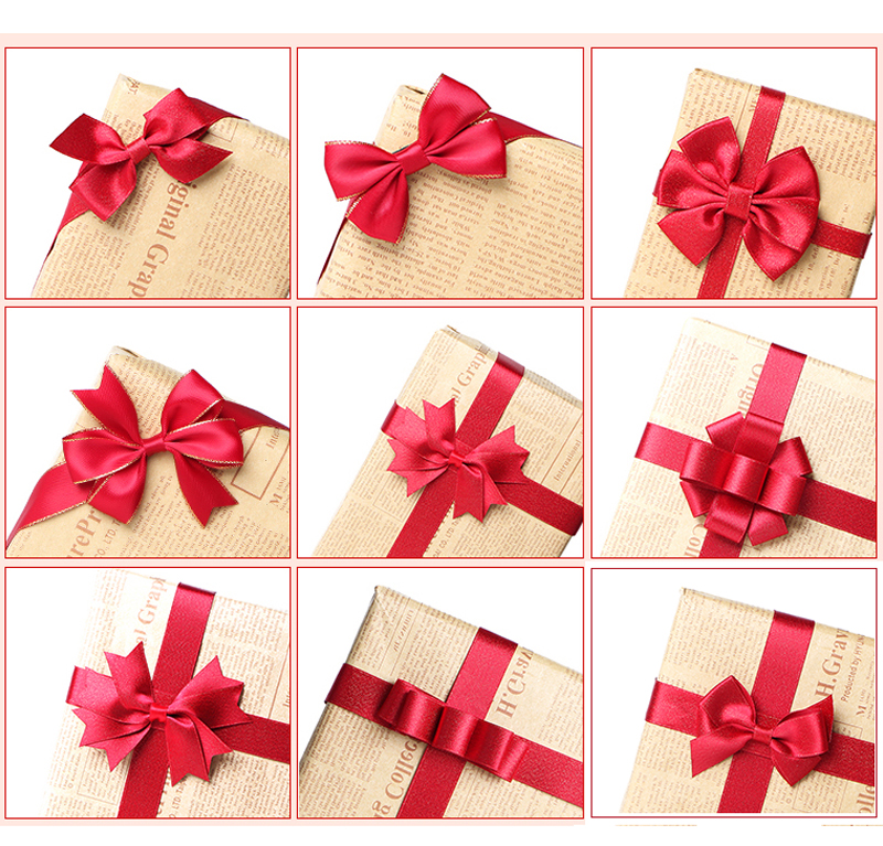 Бантик из ленты для подарочной коробочки