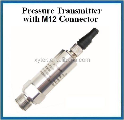 2 wires output pressure sensor transducer 4-20ma with 1.5meter direct cable QYB100H