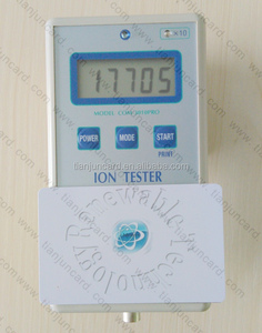 Competitive Price Smart Card Negative Ions Far Infrared Energy Carbon Life Scalar Energy Card 6000-8000 ions