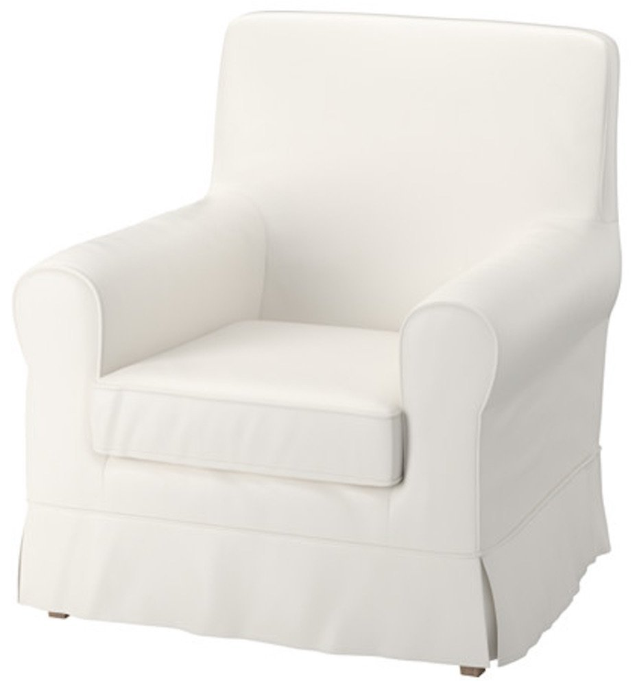 Swell Buy The White Ektorp Jennylund Cover Replacement Is Custom Pabps2019 Chair Design Images Pabps2019Com