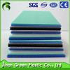 Green 2016 popular 2mm-12mm Correx Plastic Sheets for Hard Floor Protection