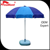 High quality 210D oxford outdoor big advertising-design garden line umbrellas
