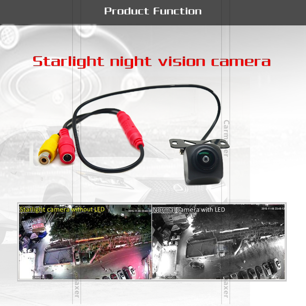 1080p Micro-light night vision back camera for car