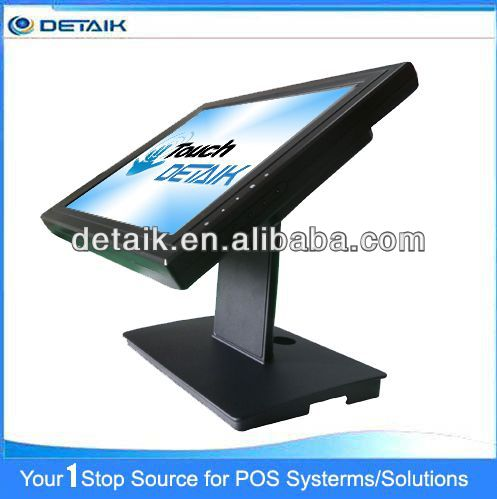 DTK-1568R 15 inch Resistive TFT LED Double Sided Touch Screen Computer Monitor