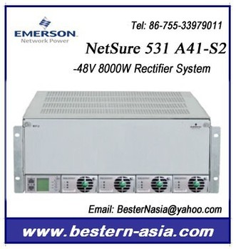 Rectifier Power System 48v 8kw Emerson Netsure 531 A41-s2