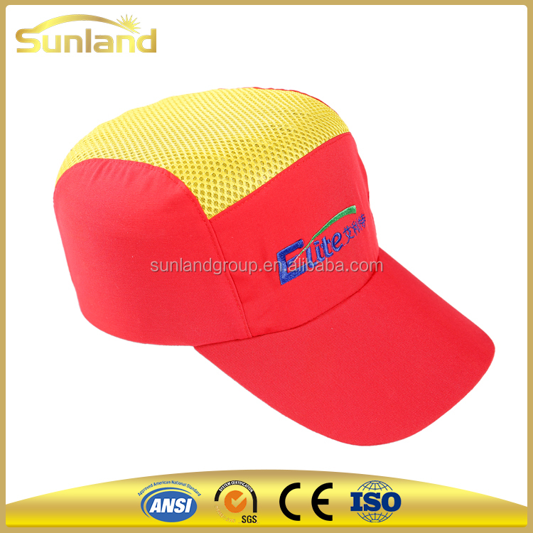 red color safety construction, working helmet or Bump Caps