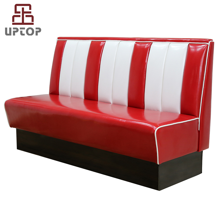 (SP-KS269) Fifties style retro american diner sofa booth restaurant