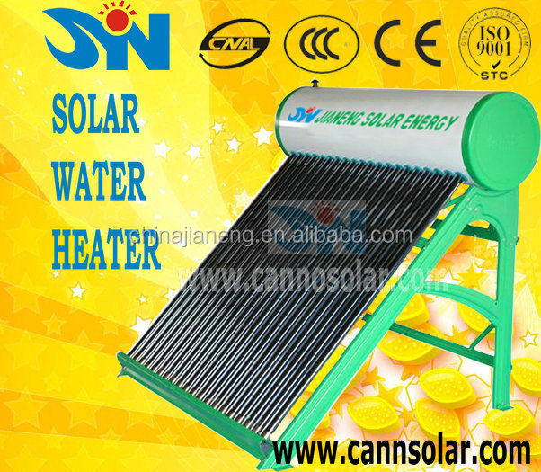 China manufacture new products,Compact non-pressure tata bp balcony solar water heater