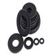 China Direct Supplier Carbon Steel High Strength Black Zinc M8 M10 Plain Washer Din 125