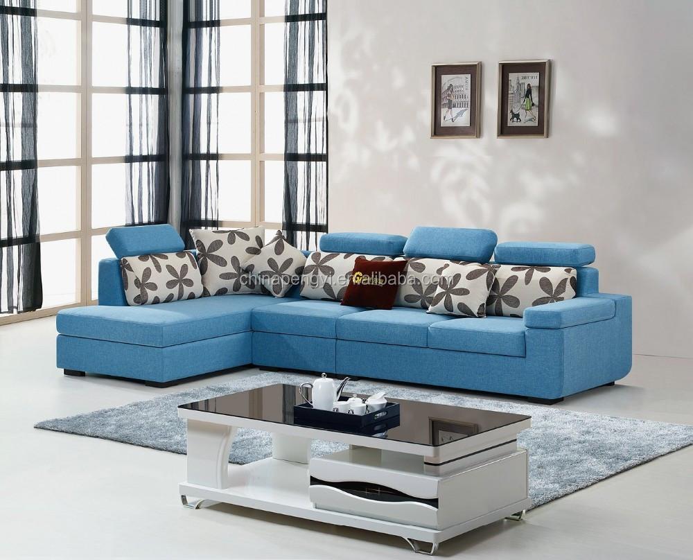 2016 New Style Modern Fabric Sofa Home Furniture Simple Design
