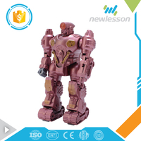 wholesale 2017 popular game toy super electronic robot kit for kids
