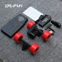 DIY Electric Skateboard Parts Longboard Kit With VESC Belt Single Motor Wheel Controller Trucks