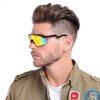 2018 New fashion sunglasses Sports Cycling Sun glasses Oversized Outdoor Windproof Sunglasses uv400 protection eyewear