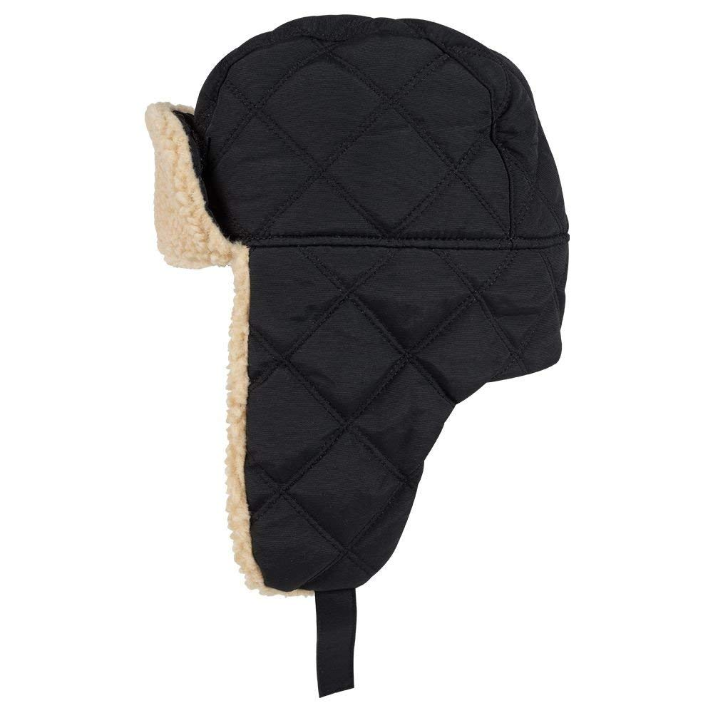 Get Quotations · 3 Panel Warm Quilted Winter Trapper Hat 5cec229c1416