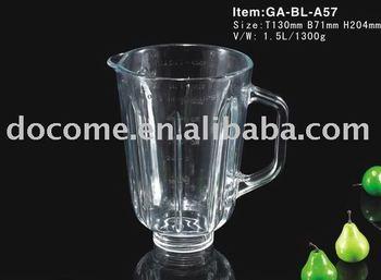 glass blender jar replacement 1 5l buy glass blender jar