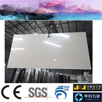 1600x3200 2cm absolutely white artificial quartz stone slabs