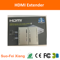 Full HD High quality powerline HDMI extender 60m over cat5ex1 with IR control