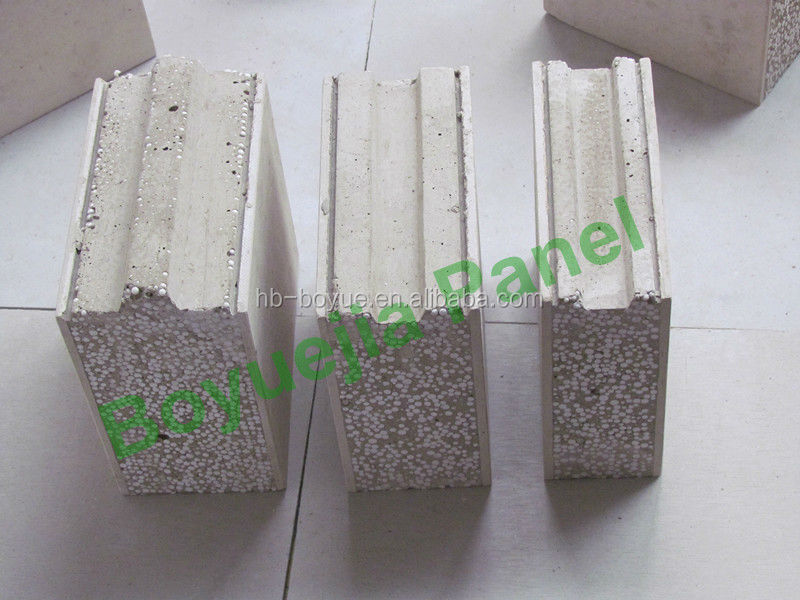 lightweight foam concrete panel prefabricated panel insulation wall