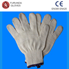100% cotton knitted working gloves/ gloves white gloves/high quality fashion gloves