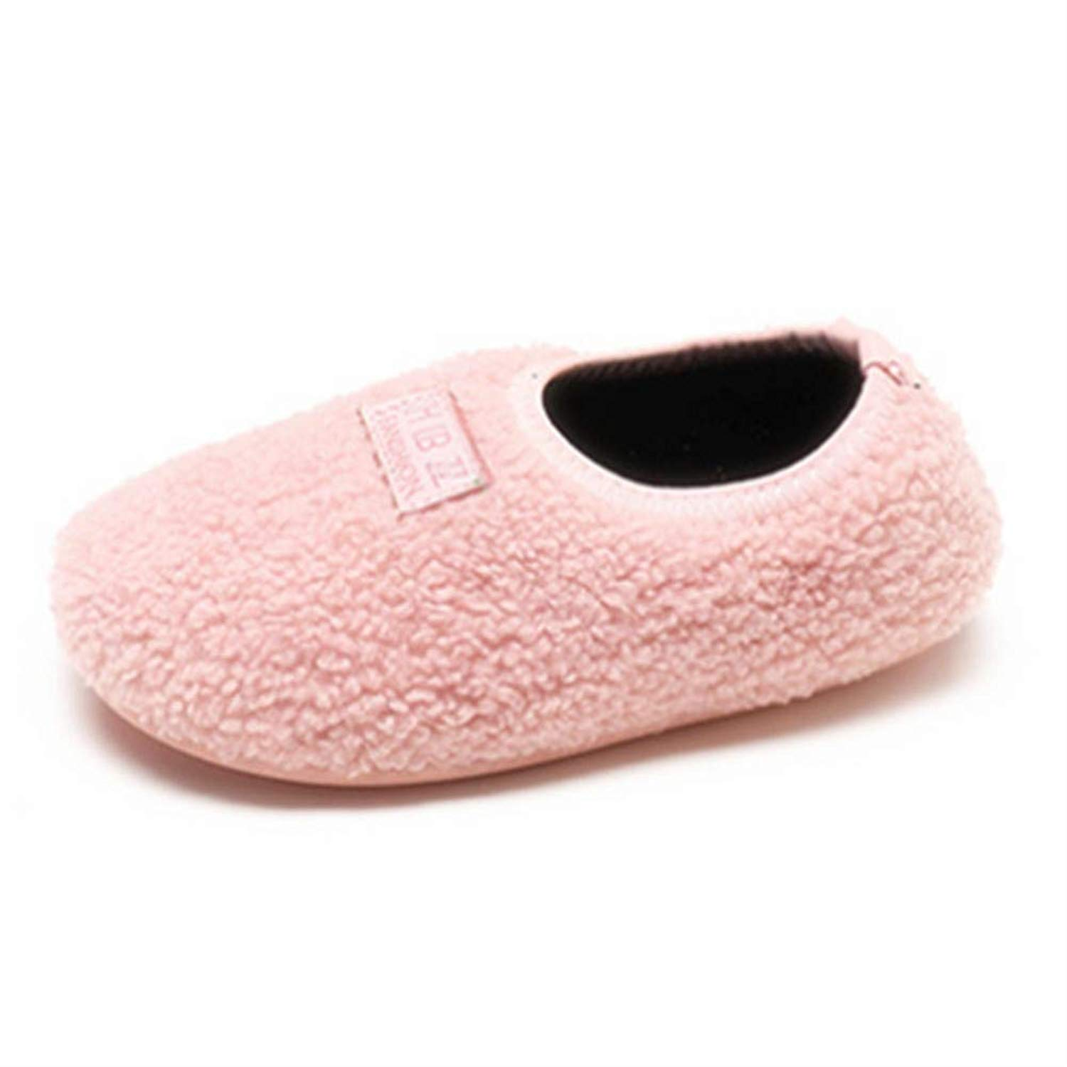 2ac863b3e36 Get Quotations · Elcssuy Kids Slippers Fur Lined Warm Soft Comfy Cute Home  Slippers for Boys Girls Indoor