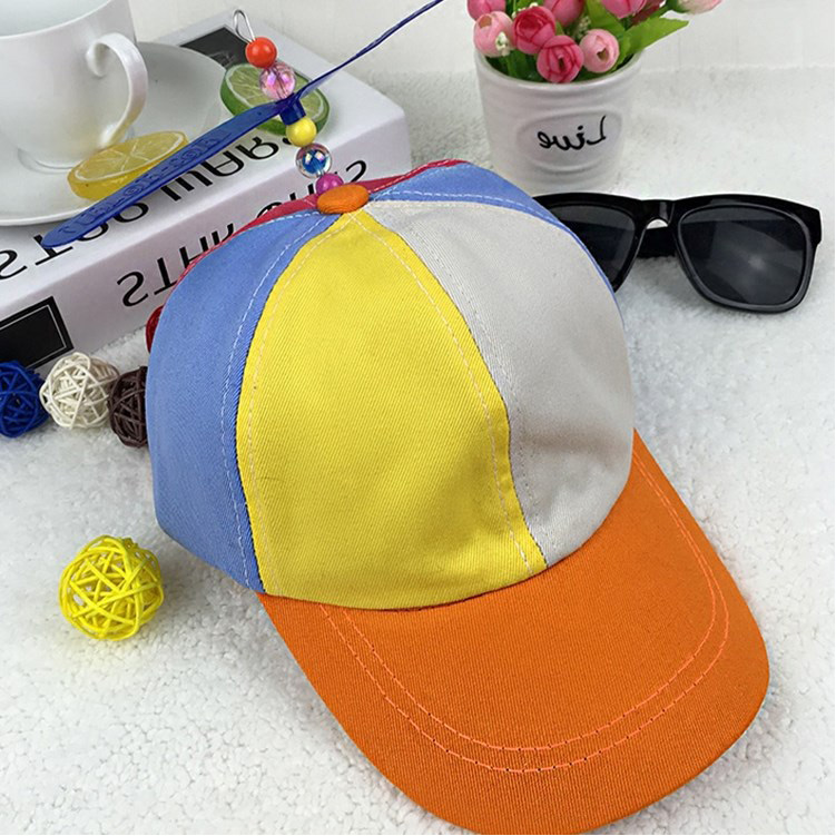 Multi-Color Bamboo Dragonfly Funny Baseball Hats And Caps for Children Kids