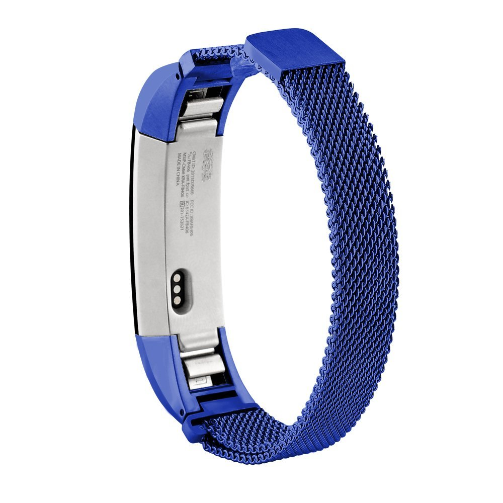 Blesihu Metal Watch Band For Fitbit Atla,Milanese Magnetic Loop Stainless Steel Band For Fitbit Alta Smart Watch